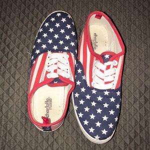 American flag sneakers